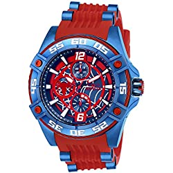 Invicta 27026 Marvel - Spiderman Reloj Unisex acero inoxidable Cuarzo Esfera rojo