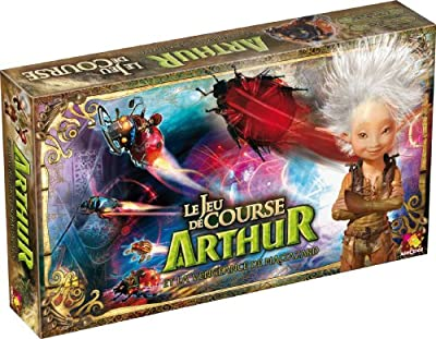 Asmodee - ART03 - Jeu de stratégie - Arthur et les Minimoys : Le Jeu de Course