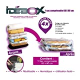 IDEBOX GLO6194 Sac de Rangement sous-Vide