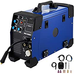 Mophorn Machine à Souder Combi 3 en1 200A MIG MAG Onduleur E-Hand IGBT MIG TIG FCAW 230V