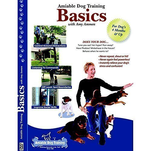 Preisvergleich Produktbild Amiable Dog Training Basics with Amy Ammen; Puppy Training DVD and Dog Training DVD for Obedient Happy Dogs