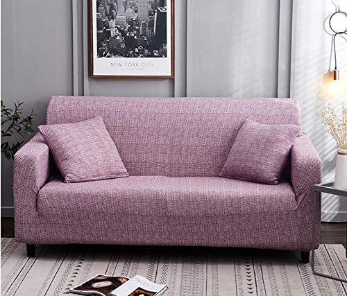 Sofa-Überwürfe Sofa Abdeckung Sofabezug Chair Cover Sofa L-Förmiges Eck-Lounge-Sofa Elastische Sofabezüge Stretch-Sofabezüge Für Das Wohnzimmer Rot 1Pcs