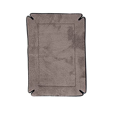 Memory Foam Dog Crate Pad Thermo-Pond 3.0 Black 12