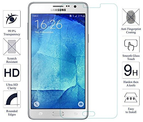 SAMSUNG GALAXY ON5 PRO / SAMSUNG GALAXY ON5 Toughened Shatterproof Tempered Glass Screen Protector Gizmo Pro HD + 9H 2.5D