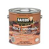 2,5L Saicos Holz Spezial grau Holzöl Terrassenöl Hartholzöl