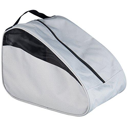 Ultrasport Schuhbeutel für Wanderschuhe, grau/schwarz, atmungsaktive Reiseschuhtasche, für die Aufbewahrung und den Transport von Trekkingschuhen