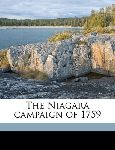 The Niagara campaign of 1759