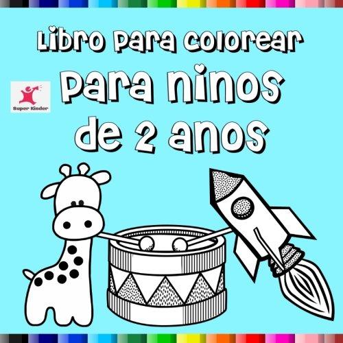 Libro para colorear para niños de 2 años por Super Kinder