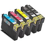 5er Set Tintenpatronen kompatibel zu Epson T29XL mit Chip für EPSON Expression Home XP-235 / XP-330 Series / XP-332 / XP-335 / XP-430 Series / XP-432 / XP-435