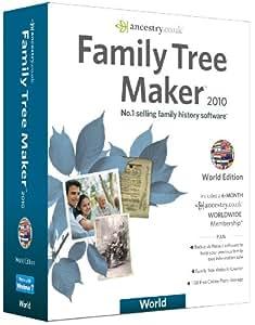 Family Tree Maker 2010 World Edition (PC CD)