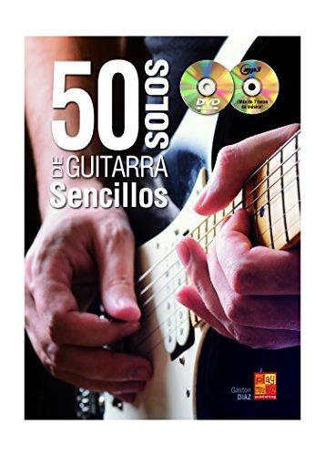 50 solos de guitarra sencillos - 1 Libro + 1 CD + 1 DVD