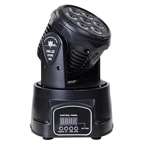 Lightess 7 LED Moving Head Light...