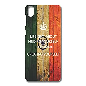 OVERSHADOW DESIGNER PRINTED BACK CASE COVER FOR HTC DESIRE 728