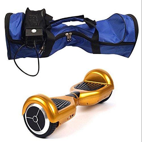 XJoel Schwarz Elektro-Smart Selbst Balancing Scooter Hoverboard Einrad Balance 2-Rad-Kasten-Rucksack Tasche Blau