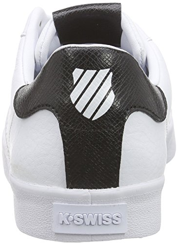 K-Swiss Belmont Snake Damen Sneakers Weiß (WHITE/BLACK 102)
