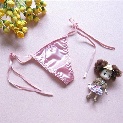 XNWP-Signora t pantalone sexy tentazione thong con dimensioni ragazza carina trasparente giapponese mutandine,Rosa,entrambi