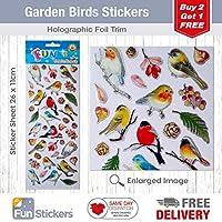 Fun Stickers Garden Birds 1704