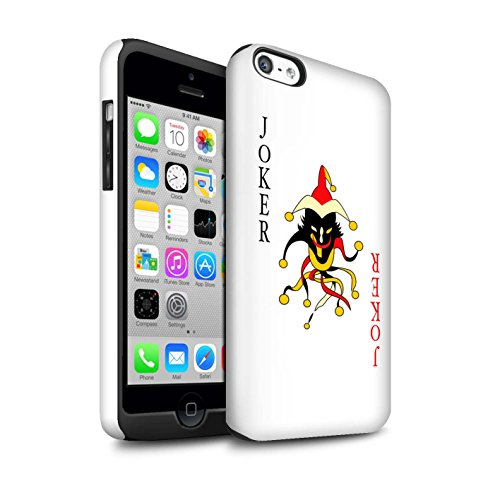 Coque Brillant Robuste Antichoc de STUFF4 / Coque pour Apple iPhone 4/4S / Joker Design / Cartes à Jouer Collection Joker