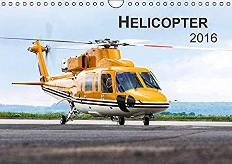Helicopter 2016 (Wandkalender 2016 DIN A4 quer): Helicopter 2014 (Monatskalender,