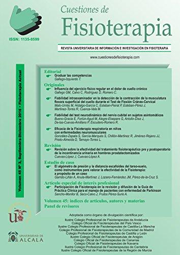 CUESTIONES DE FISIOTERAPIA: VOLUMEN 45 -3 por T. GALLEGO IZQUIERDO
