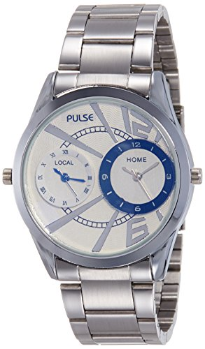 Pulse Analog Multicoloured Dial Men's Watch - PL0701