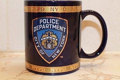GOLF CARTS UNIVERSE New York Cops-NYPD Kaffee Tasse offiziell von der New York Polizei von von der New York City Polizei
