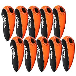 Callaway Golf Iron Head Covers 10pcs/set Black & Orange MT/C08