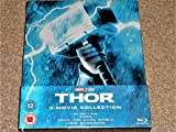 Thor Trilogy Steelbook 1-3 UK Exclusive Limited Edition Thor 1-3 collection Steelbook Blu-ray Region Free
