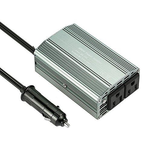 Preisvergleich Produktbild KKmoon 400W Wechselrichter DC 12V, AC 110V Konverter 2.1A Dual USB Kfz-Adapter