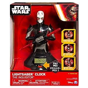 Spin Master Star Wars despertadorcon luz y Sonido Inquisitor Lightsaber 39 cm *INGLÈS*