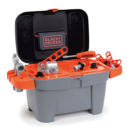 Smoby Black und Decker Werkzeug Fall Box (Mehrfarbig)