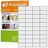 Etichette per etichettature–52,5x 29,7mm, autoadesivo bianco stampabile–4000STK a 100A4Confezione da 4x 10adesivi–4461LA1113651