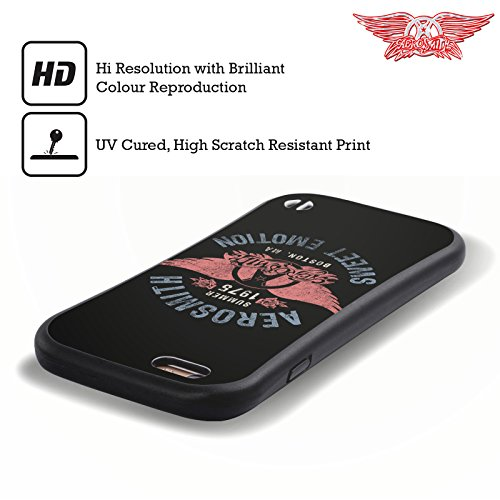 Ufficiale Aerosmith Sweet Emotion Arte Da Poster 3 Case Ibrida per Apple iPhone 5 / 5s / SE Sweet Emotion