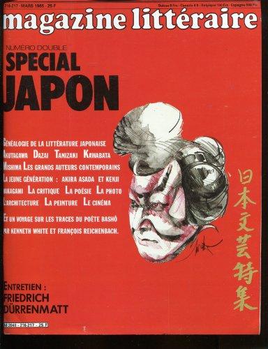 MAGAZINE LITTERAIRE - Nç 216-217. SPECIAL JAPON.