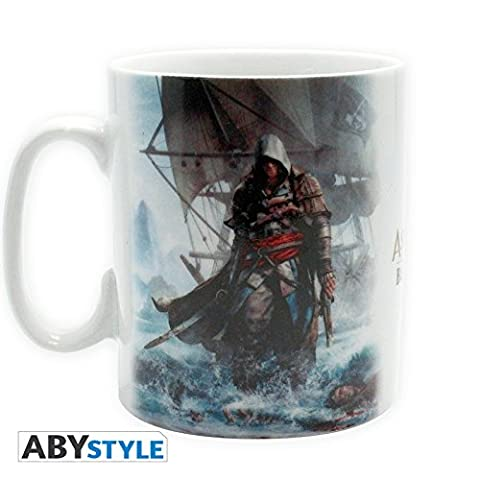 Tasse 460 ml Porcelaine Avec Boîte 'Assassin's Creed' - Assassin's Creed 4