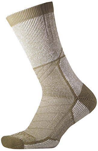 Thorlo Outdoor Explorer – Socken – Unisex XL Camp Khaki (Khaki Lrg)