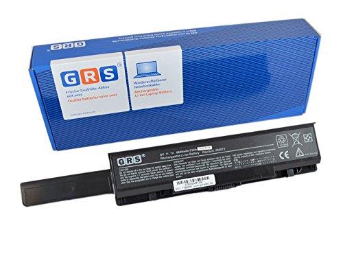 GRS Batterie d'Ordinateur Portable avec 6600 mAh DELL STUDIO 1735, 1737, Inspiron 1737 Fç ¬ série R, remplace : RM791, KM973, KM976, RM870 MT335, KM978, RM868 PW823, batterie ordinateur portable 6600 mAh, 11,1 V