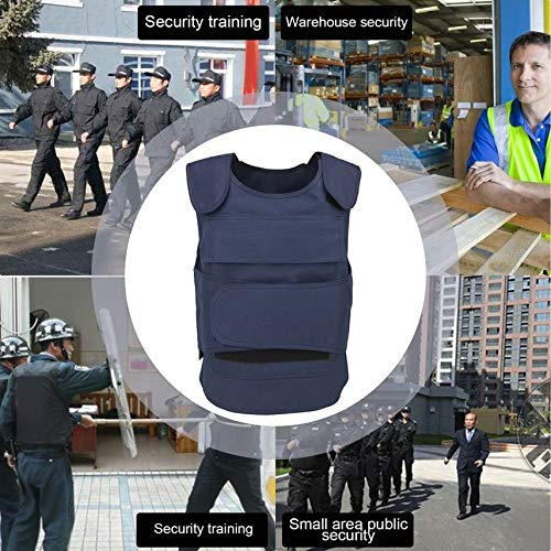 HibiscusElla Security Guard Vest Stab-Resistant Vest Cs Field Genuine Tactical Vest Clothing Cut Proof Protecting Clothes for Men Women -