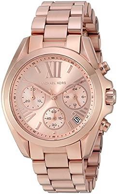 Michael Kors MK5799 - Reloj de cuarzo con correa de acero inoxidable para mujer, color rosa