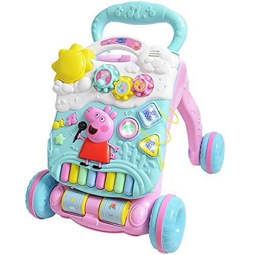 CHAOLIU Aprende Conmigo Zebra Walker, Baby o Toddler Walker y un Juguete Educativo electrónico con música y Sonidos