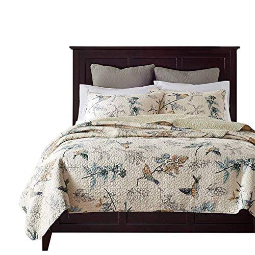 Tröster Baumwolle Bett Spread Quilts Sets Queen Size Tagesdecken Queen Country Chic -
