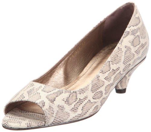 Farrutx Pee toe 41284, Chaussures à lacets femme Beige-TR-D3-24