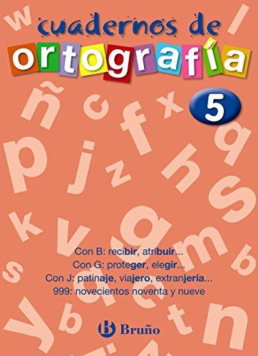 Ortografía, Educación Primaria. Cuader...