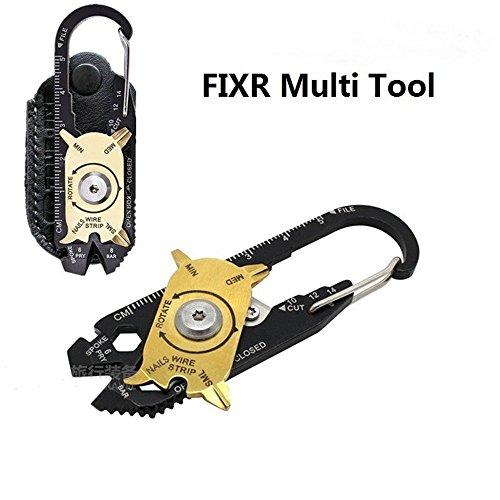Rubility® 20 in 1 DIY tragbare Mini-Taschen-Werkzeug-Multifunktions / Multi-Werkzeug / Werkzeug-Überlebens-Schlüsselanhänger / Outdoor-Tool