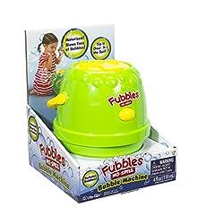 Little Kids Fubbles Bubble Machine, Green/Yellow