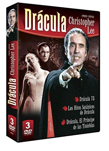 Christopher Lee 3 DVD Dracula Pack