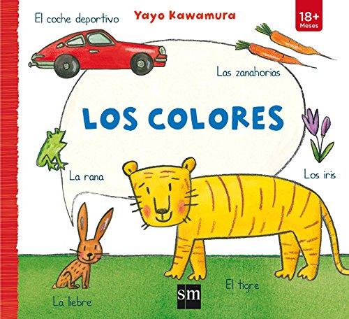 Los colores (Libros de cartón) por Yayo Kawamura