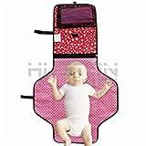 luxus - baby veränderung pad mit eingebauten kopf kissen - portable windeln gewechselt, für reisen und zu hause - Aution House (Farbe 5)