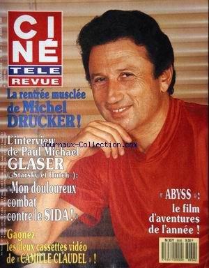 CINE TELE REVUE [No 36] du 07/09/1989 - ABYSS - LE FILM - LA RENTREE MUSCLEE DE MICHEL DRUCKER - PAUL MICHAEL GLASER ET LE SIDA par Collectif