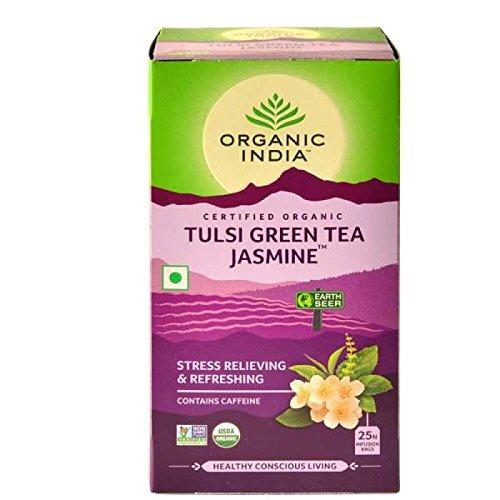 Organic India - Tulsi grüner Tee Jasmin, 25 tb -